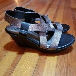 EUC Wedge Heels